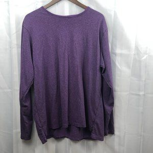 Robert Graham Purple casual long sleeve